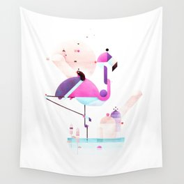 Placido Flamingo Wall Tapestry