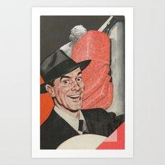 Spam Man Art Print