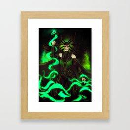 Hela, Goddess of Death Framed Art Print