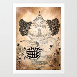 Materia VI Art Print