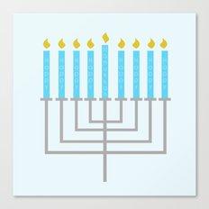 Happy Happy Happy Happy Hanukkah! Canvas Print