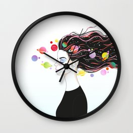 some space Wall Clock