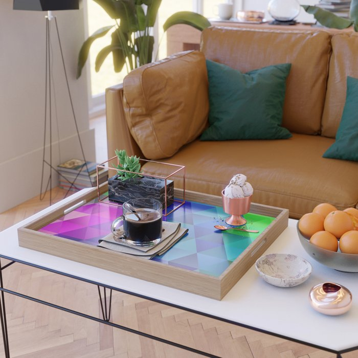 Color Wave Serving Tray