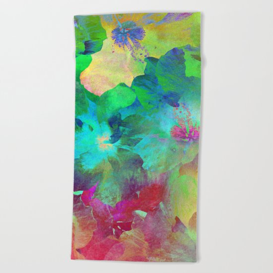Hibiscus Dream #4 Beach Towel