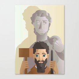 great sculture and renaissance artist Canvas Print