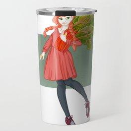 Rhonda Rhubarb Travel Mug