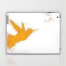 Bird Fly No. 1  (orange) Laptop & iPad Skin