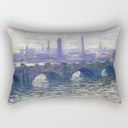 Monet Bridge Rectangular Pillow