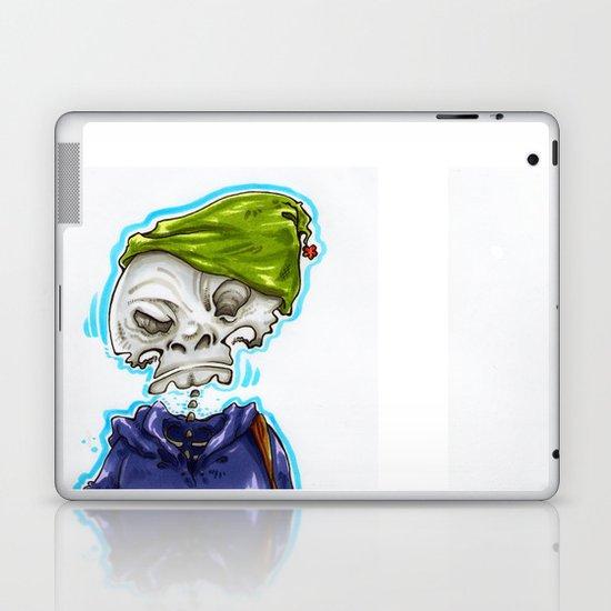 Skinny Skeleton Kid Laptop & iPad Skin