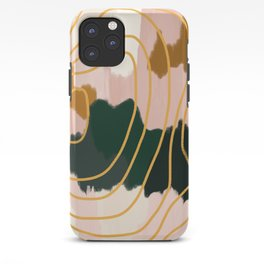 Abstract in mangosteen iPhone Case