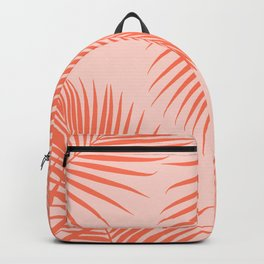 Coral Palms ~ Summer Tropical Pattern Backpack