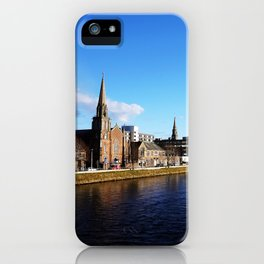 On The Bridge - Inverness - Scotland iPhone Case