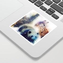 Animals Painting Sticker