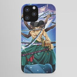 Zoro - one piece iPhone Case