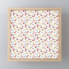 Polyhedral Dice- Pop Modern Framed Mini Art Print
