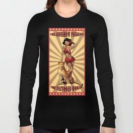 The Tattooed Woman Long Sleeve T-shirt