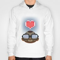 video games Hoodies featuring I love Video Games  by Shihab Aldeen