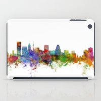 maryland iPad Cases featuring Baltimore Maryland Skyline by artPause