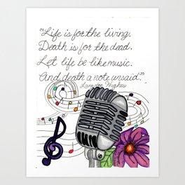Making Music Art Print
