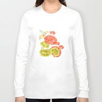 hummingbird Long Sleeve T-shirts featuring Hummingbird by Thesecretcolors