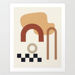 // Shape study #23 Art Print