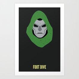 Dr. Doom - Foot Dive Art Print