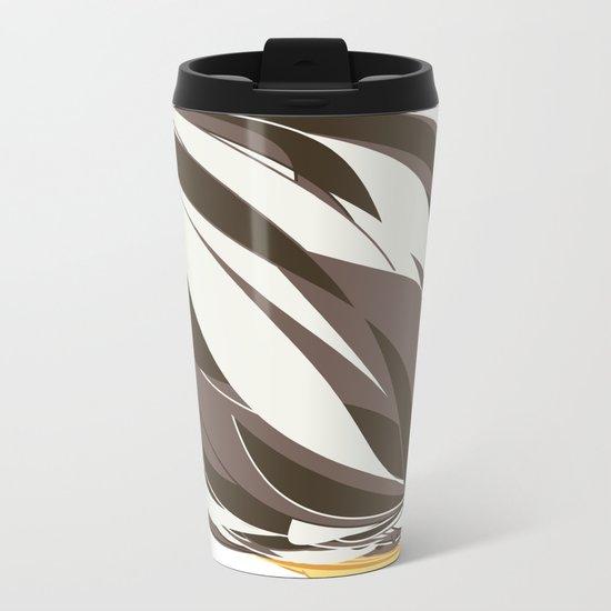 Chocolate Icecream Metal Travel Mug
