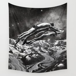 TIME TRAVEL Wall Tapestry