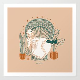 Texas Bohemia Art Print