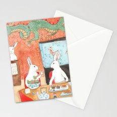 Sushi and Noodles Stationery Cards