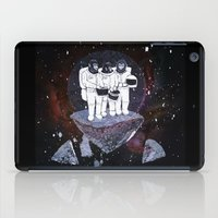 planet of the apes iPad Cases featuring Meteoric Apes by Tom Bryce