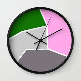Modern Cubist 03 Wall Clock
