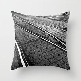 Evening Commute Throw Pillow