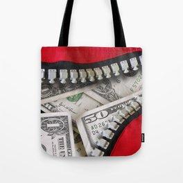 Money Bag Tote Bag