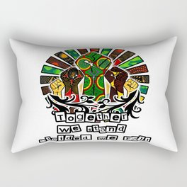Together we Stand divided we fall Rectangular Pillow