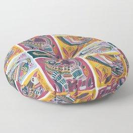 Alebrijes Animals - Natural Tint Floor Pillow