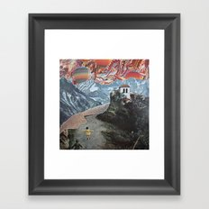 off to see Framed Art Print
