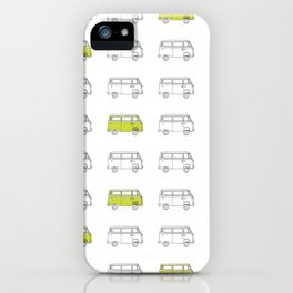 Hippie Van (AKA V W Bus) iPhone Case
