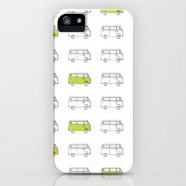 Hippie Van (AKA V W Bus) iPhone Case