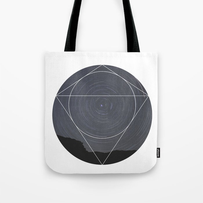 Spinning Universe - Geometric Photography Tote Bag