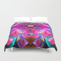 diamonds Duvet Covers featuring Diamonds by thea walstra