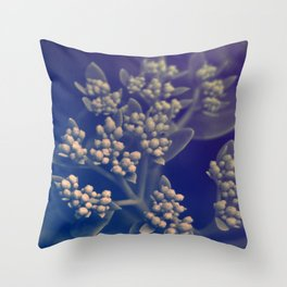 Floral Buds Throw Pillow
