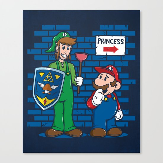 Your Princess is in Another Castle Canvas Print