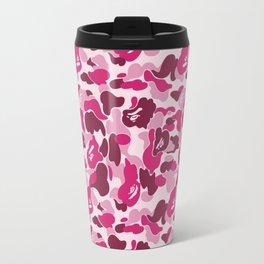 Bape Pink Travel Mug