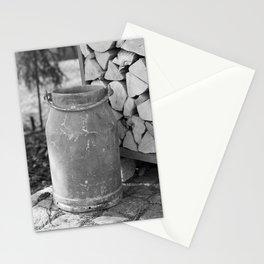 Old milk jug Stationery Cards