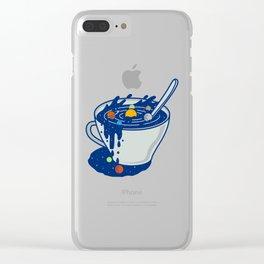 Galaxy Mug Clear iPhone Case