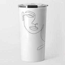 Lady Sketch Travel Mug