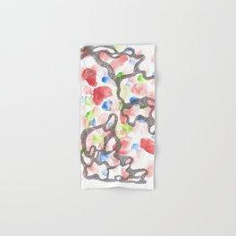 Scandi Micron Art Design | 170808 Micron Watercolour 7 Hand & Bath Towel