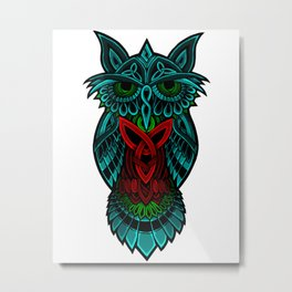 The Nocturnal Metal Print