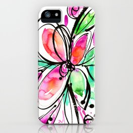 Ecstasy Bloom No. 1 by Kathy Morton Stanion iPhone Case